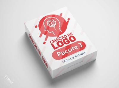 Criação de Logo Pacote 3 (3 Artes para itens de Papelaria)