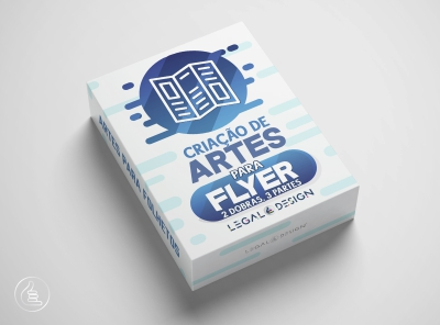 Arte Digital | Folheto / Flyer 2 Dobras e 3 Partes